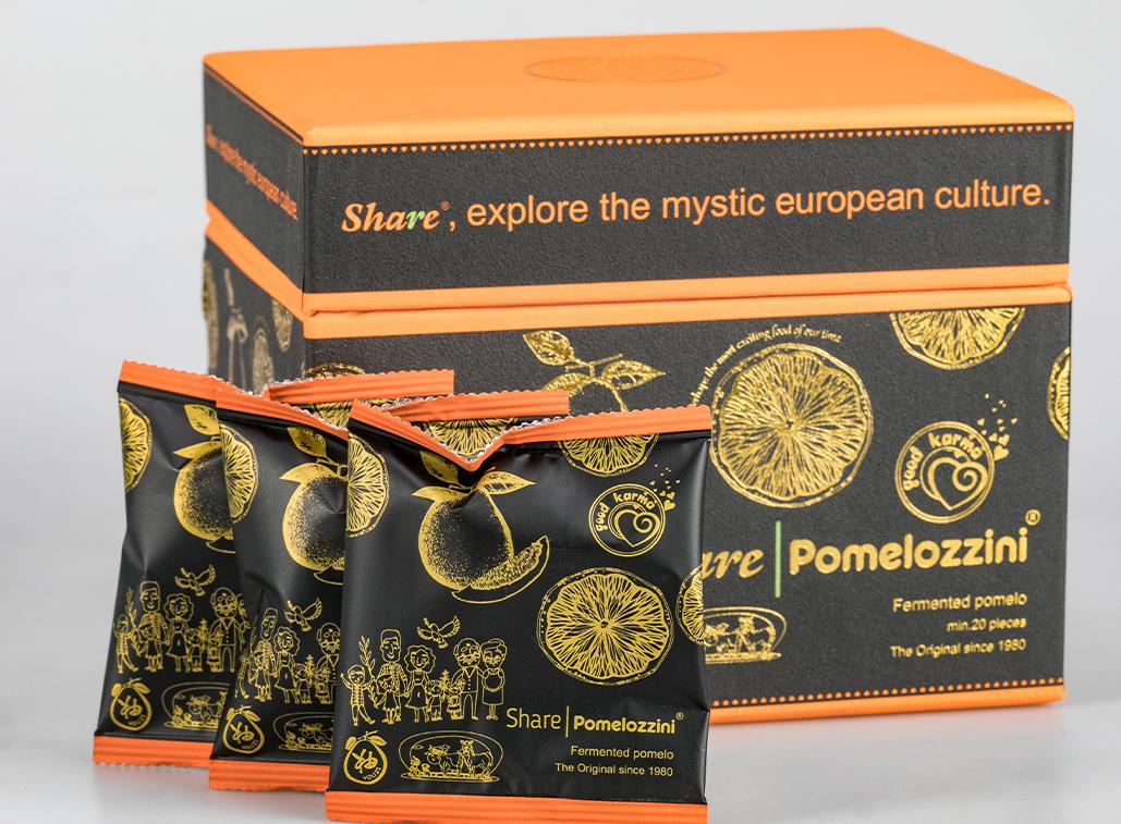 Share Pomelozzini Box mit 3 Einzelsachets