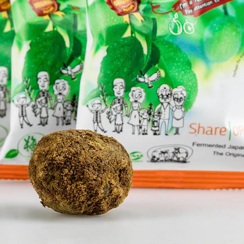 Einzelfrucht Share Original Pflaume im Kräutermantel unverpackt